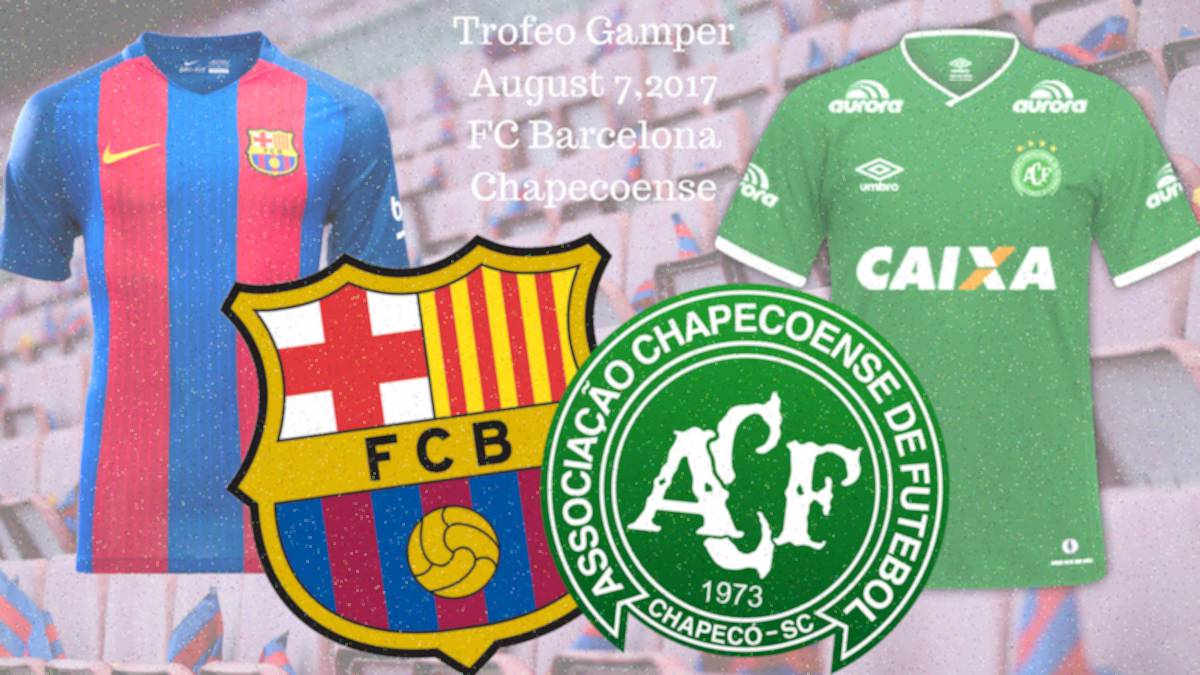 The Catalan club keep faithful to their original promise with the Brazilian side being this year's guests at the Trofeo Gamper pre-season at Camp Nou.