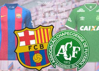 Barça to face Chapecoense in pre-season Trofeo Gamper