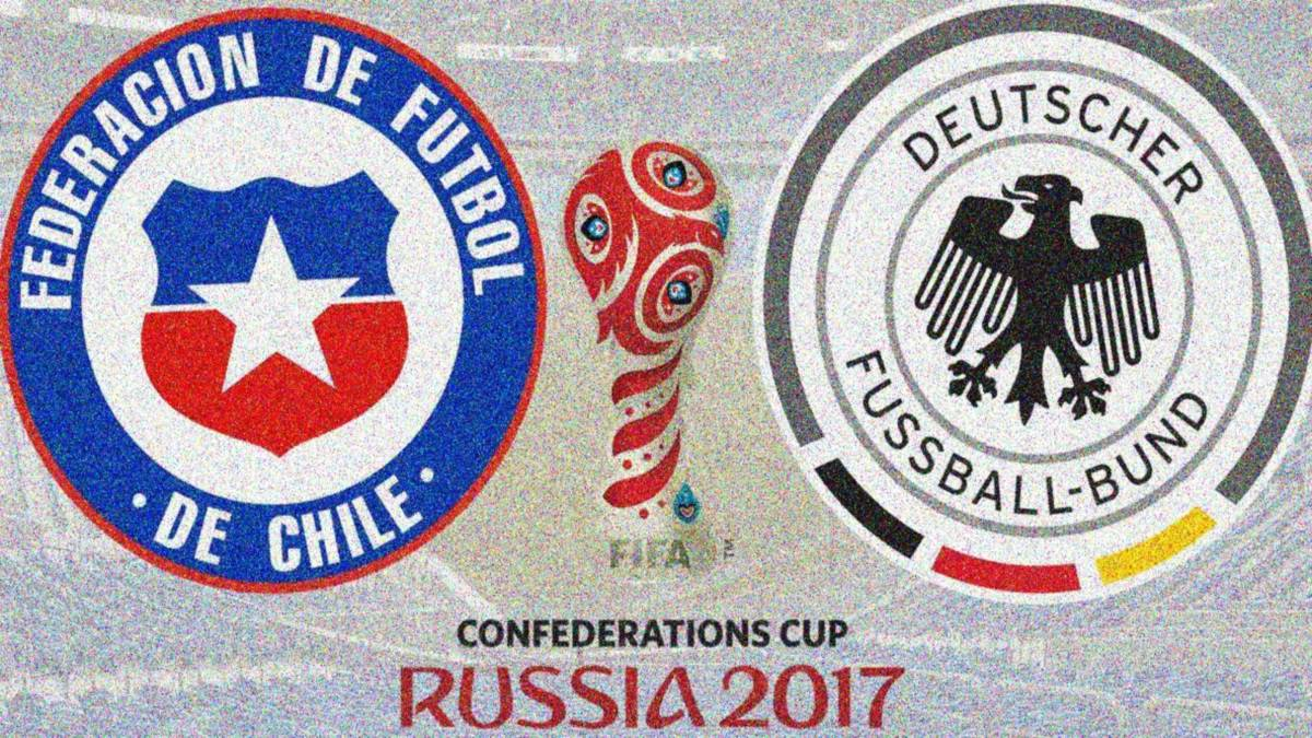 All you need on how and where to watch the final of the 2017 FIFA Confederations Cup as Chile face Germany in St. Petersbrug (Russia) on Sunday July 2.