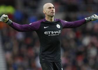 Willy Caballero joins Chelsea on a free transfer