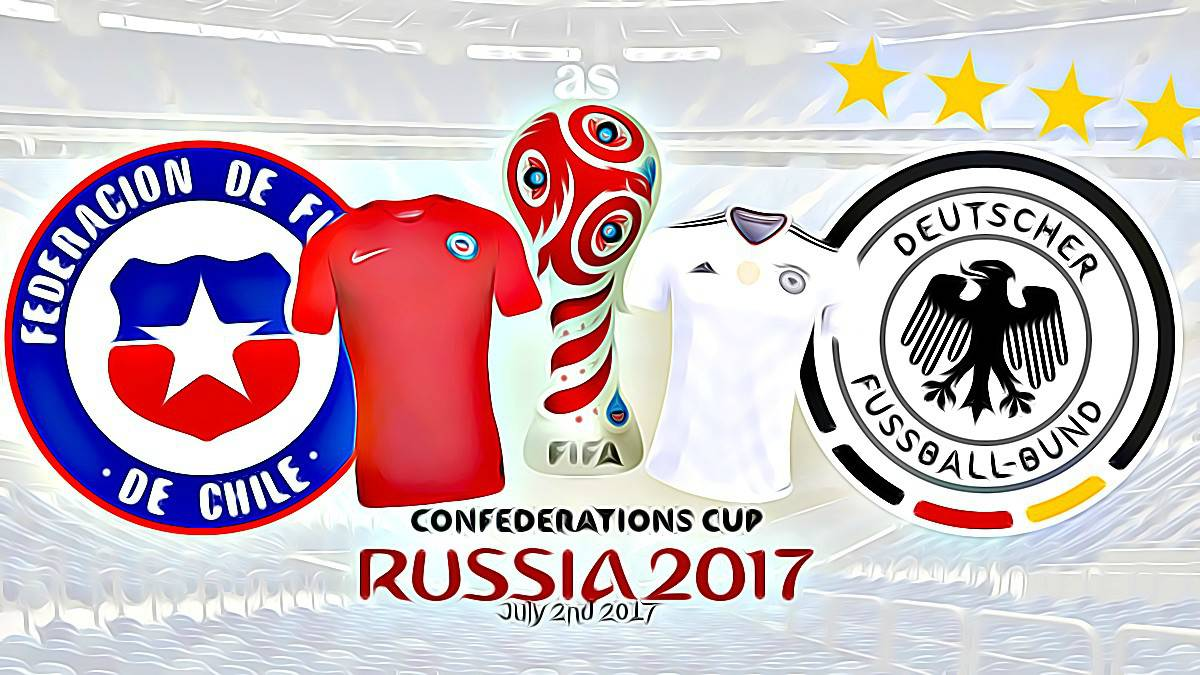 Follow Chile vs. Germany live online. FIFA 2017 Confederations Cup final match today, July 2nd at 20:00 CEST live from Saint Petersburg with AS English.