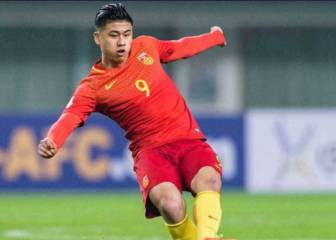 West Brom sign striker Zhang Yuning then loan him out