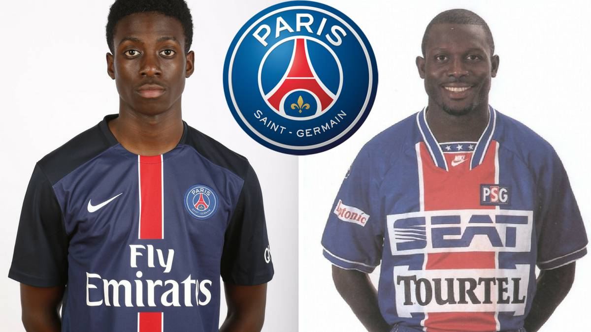 The 17-year-old son of striker George Weah has joined Paris Saint-Germain's professional ranks on a three-year deal, the French Ligue 1 club said on Monday.