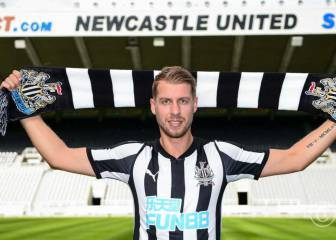Newcastle bolster back four with Eibar's Florian Lejeune