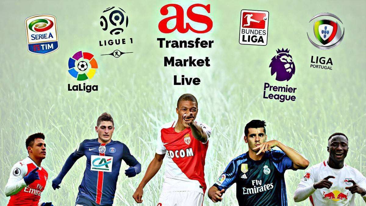 Transfer market live online: Friday 7 July 2017