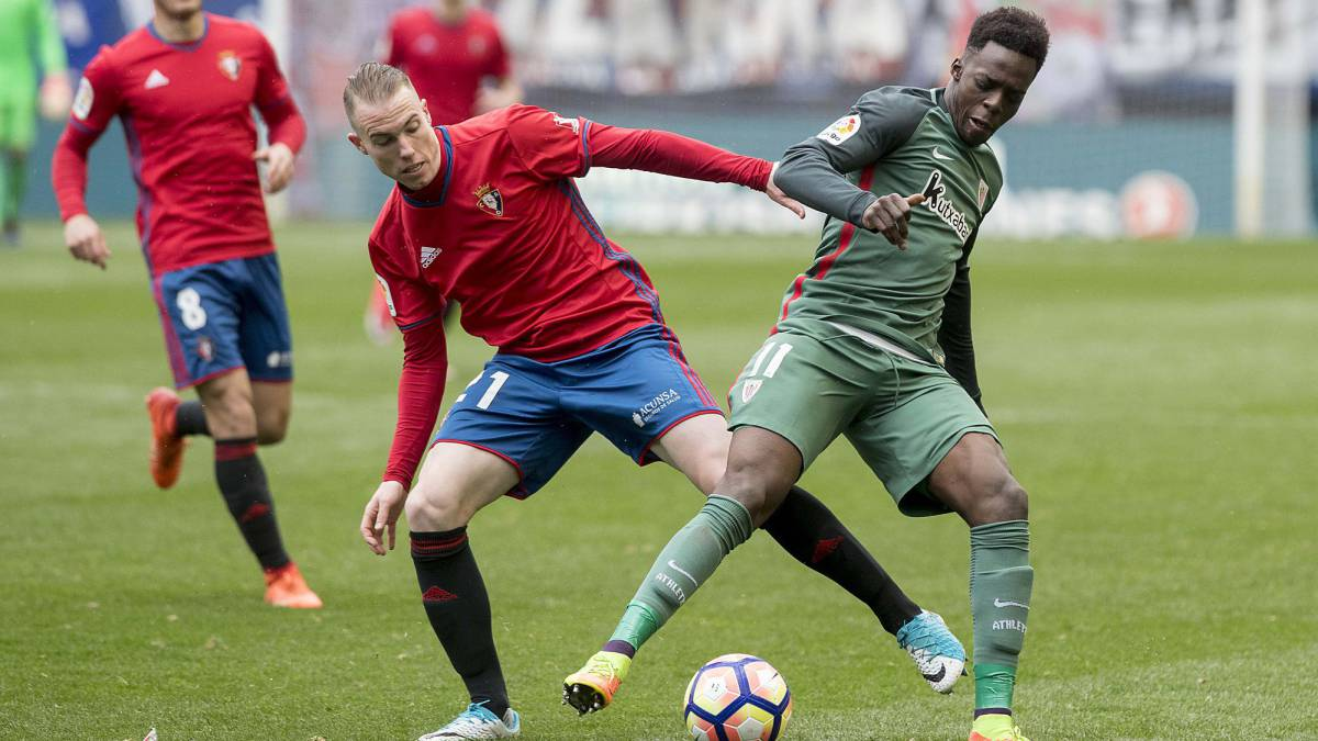 Athletic's signing of Jesús Areso has revealed cracks former during negotiations over Álex Berenguer. Osasuna accuse the Basque Club of abuse and sarcasm.