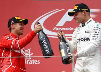 Bottas beats Vettel, Hamilton comes home fourth
