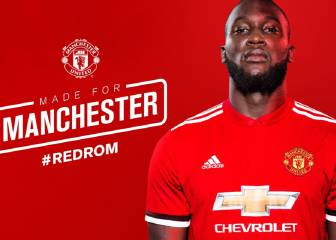 Manchester United officially announce Romelu Lukaku