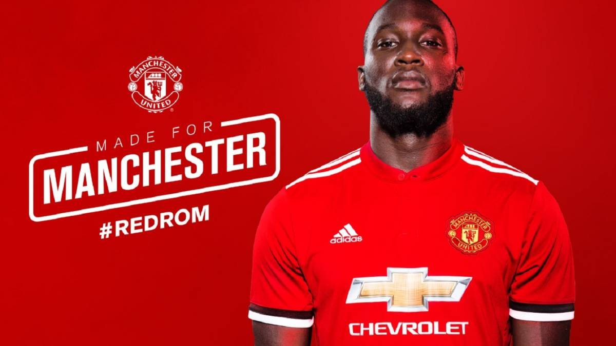 Manchester United officially announce Romelu Lukaku as their lastest transfer
