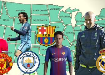 Real Madrid's US schedule: Barça, United and City await