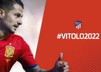 Atlético confirm Vitolo, winger to join Las Palmas until January