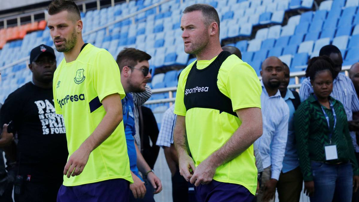 Wayne Rooney set to reappear with Everton in Tanzania, Africa