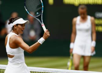 Super-confident Muguruza eases into 2nd Wimbledon final