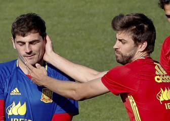 Piqué takes a dig at Casillas' Instagram post