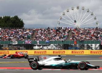 Hamilton wins fourth straight British GP