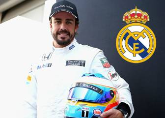 Fernando Alonso nets special memento of Real's Cardiff win