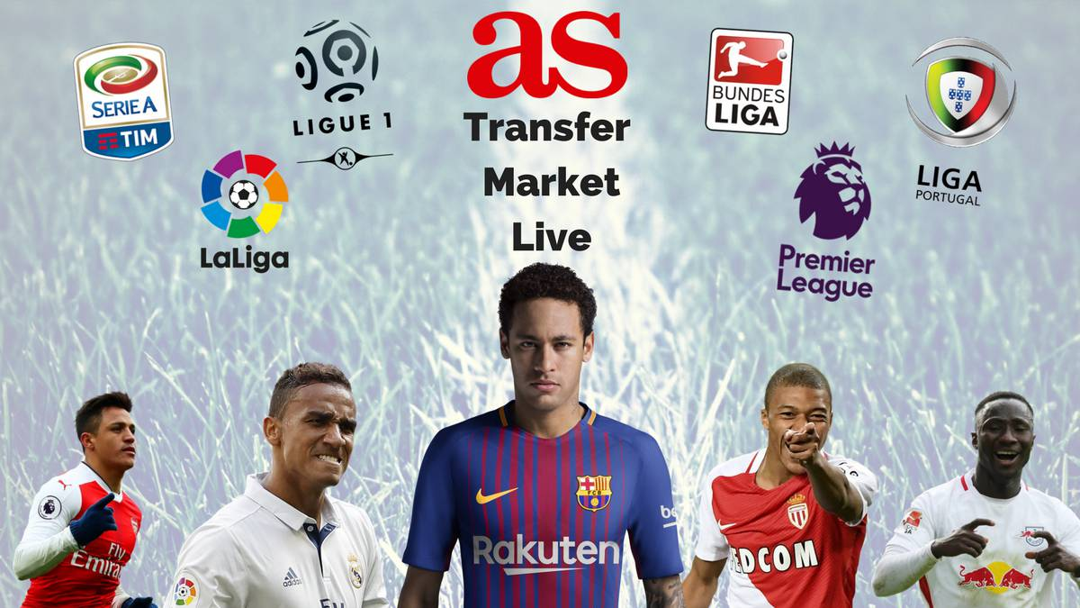 Rumours, transfers, speculations and done deals: all the summer signings and departures in LaLiga, the Premier League, Serie A, Ligue 1 and beyond.