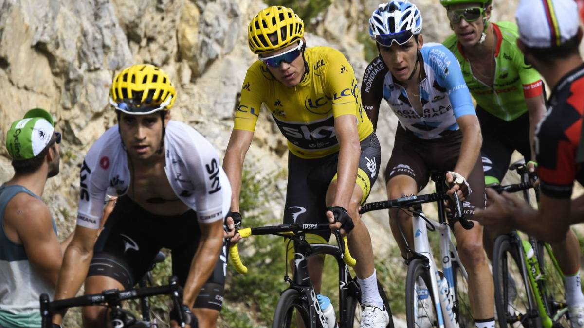 Landa could be a contender next year, admits Froome