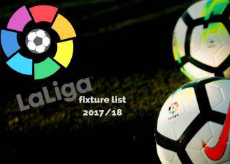 Week by week quick glance LaLiga 2017/18 fixture list