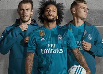 Real Madrid's 2017/18 third kit in pictures