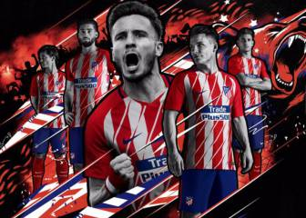 Atlético Madrid release 2017/18 home and away kits