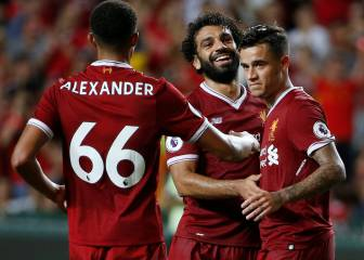 Coutinho and Salah quicker than the human eye for Reds