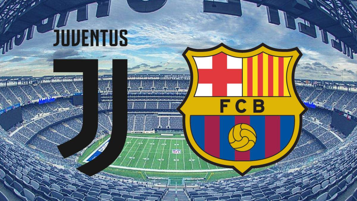 2017 International Champions Cup | Juventus vs Barcelona ...