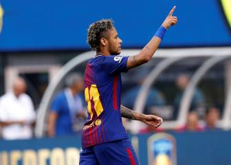 Neymar lights up New York as Barcelona down Juventus