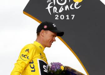 Chris Froome secures fourth Tour de France