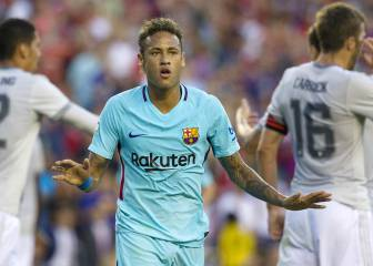 Neymar settles matters as Man United lose to Barcelona