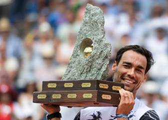 Fabio Fognini toasts fifth ATP triumph at Swiss Open