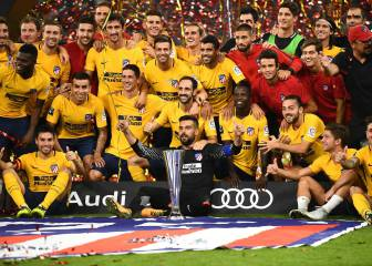 Atleti become the 3rd club to get their hands on the Audi Cup