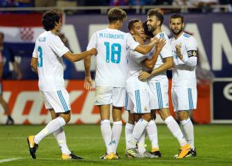 Real Madrid finish US tour with victory over MLS All-Stars