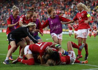 Denmark beat Austria on penalties for place in final