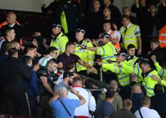 Burnley friendly with Hannover abandoned after crowd trouble