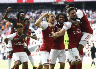 Clinical Arsenal win Community Shield on penalties