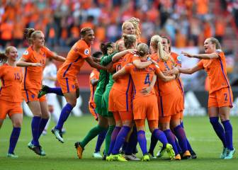 Netherlands sink Denmark to win Women's Euro 2017