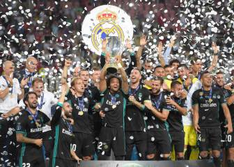 Real Madrid beat Man United to claim UEFA Super Cup