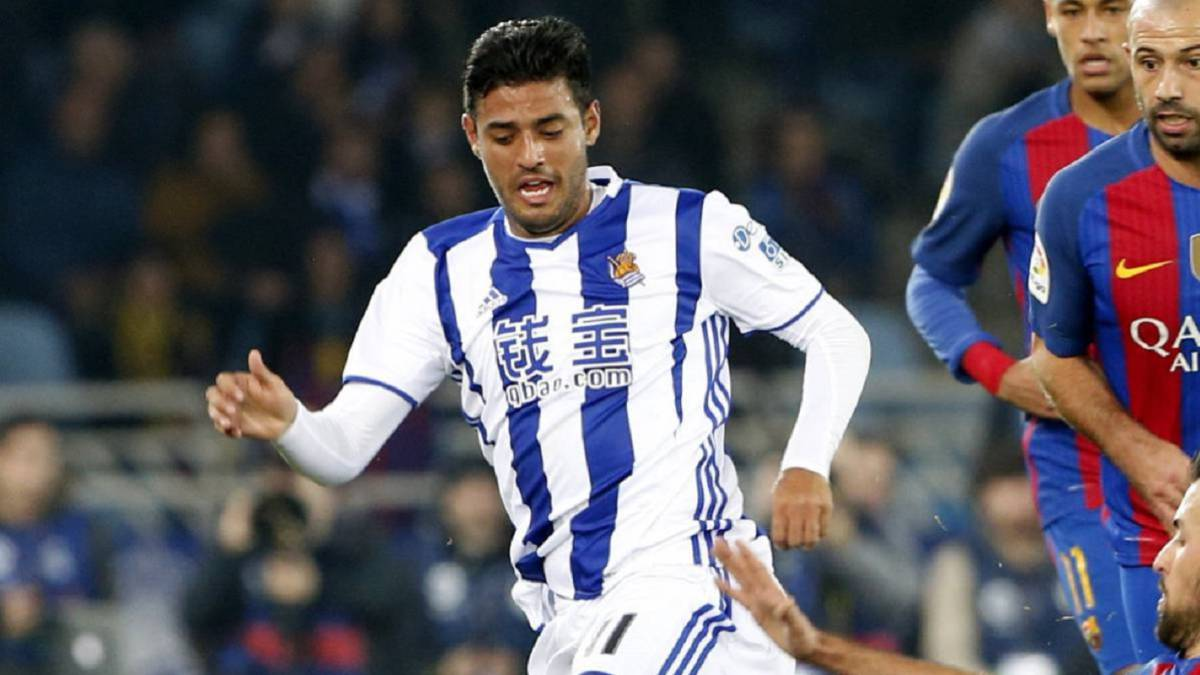 Real Sociedad's Carlos Vela to join Los Angeles FC in January