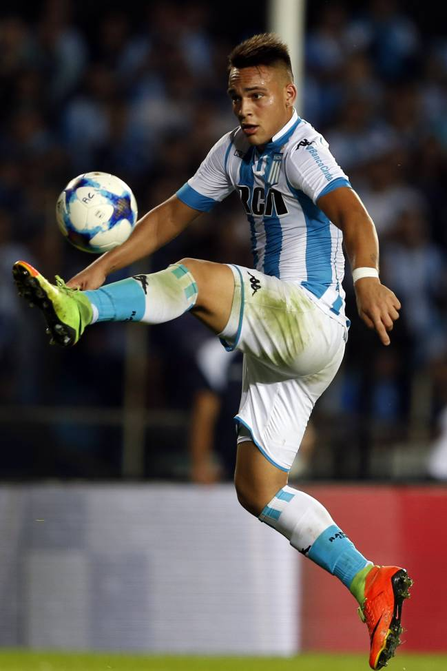 Lautaro Martínez to Atlético | Diego Simeone is willing to buy the 19-year-old Argentine sensation and return him on loan to Racing Club for a further year.