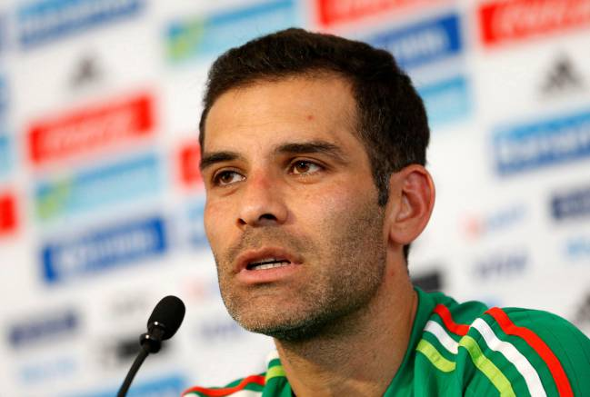 Rafa Márquez | The current Mexico and Atlas captain is one of 22 people sanctioned by the Treasury for alleged ties to drug trafficker Raúl Flores Hernández.