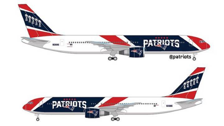 Flying first class: Patriots become first NFL team to purchase their own aircraft for road games.