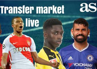 Transfer market live online: Saturday 12 August 2017