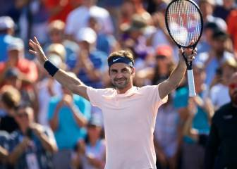 Federer extends winning run to five-year high in Montreal