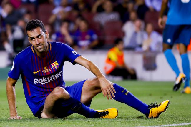 Sergio Busquets called out Pep Segura [Barcelona general manager] for his comments about Gerard Piqué, and talked about adjustment to Neymar departure.