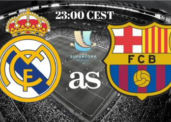 Real Madrid-Barcelona live stream online: Spanish Super Cup