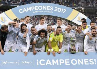 Real Madrid romp to second title of the season