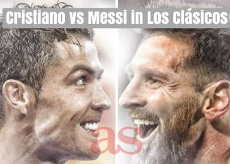 Cristiano vs Messi in Los Clásicos
