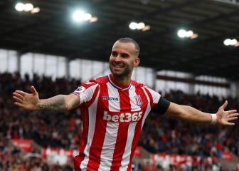 Jesé Rodríguez scores on Stoke City debut against Arsenal