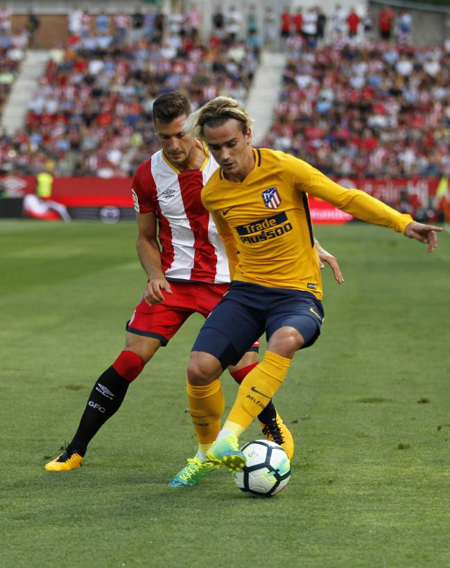 Griezmann in action against Girona.